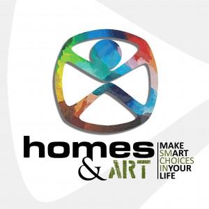 logo homes & ART