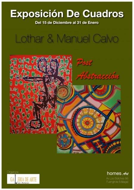 LOTHAR & MANUEL CALVO (exposición colectiva)